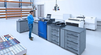 Nine Products from Konica Minolta, Including AccurioPress C6100, a Digital Printing System, Certified as Compliant with HCD-PP, Evaluation Criteria for International Security Standards