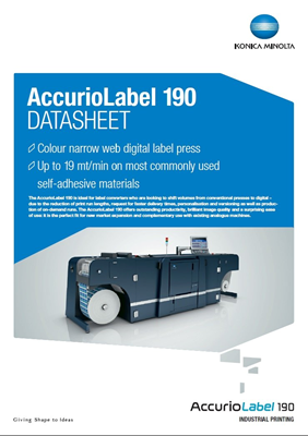 Accurio Label-190 datasheet thumbnail