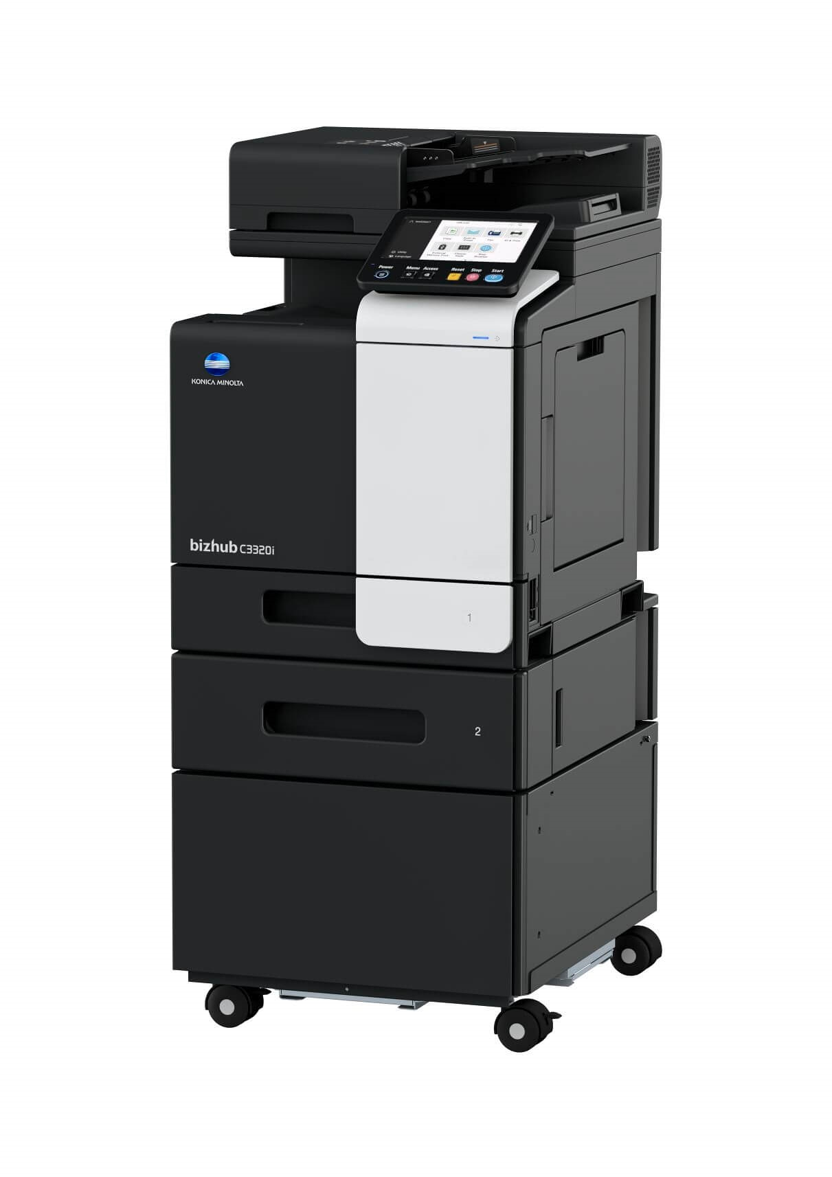 Konica Minolta i-series bizhub c3320i multifunctional printer