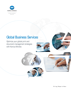 global business brochure thumbnail